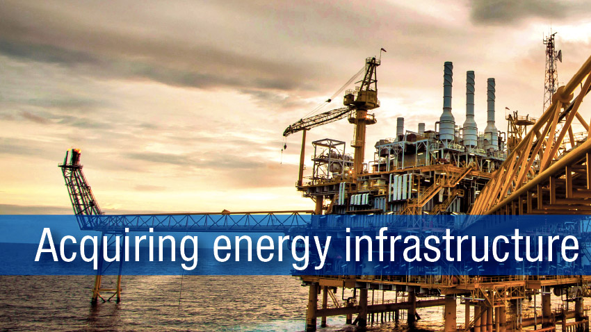 Acquiring energy infrastructure from PEMEX
